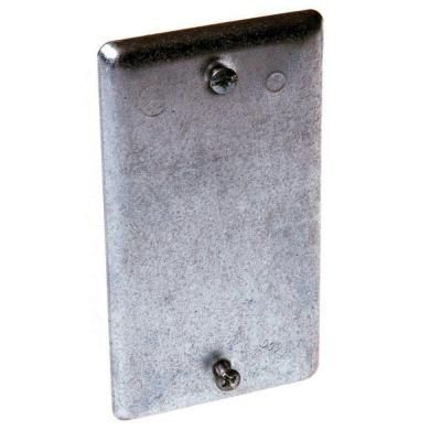 Raco 1 Gang Handy Box Blank Cover 860 Electrical Box Cover Covered Boxes Metal Electrical Box