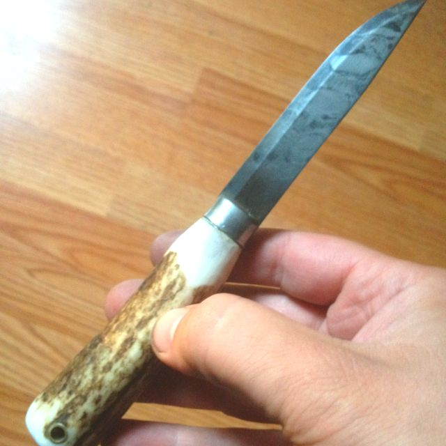 Making A Carving Knife: Re-handled Mora Knife