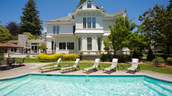 White House Inn Spa Napa Valley Hotels Bed And Breakfast California Photos