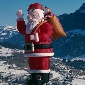 Kerst Hotairballoon