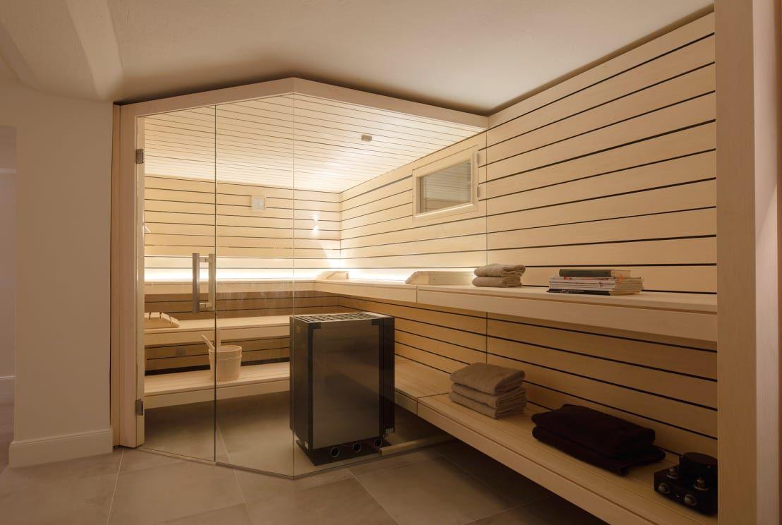 Photo of Umbau: Kellerraum zur Design Sauna von corso sauna manufaktu