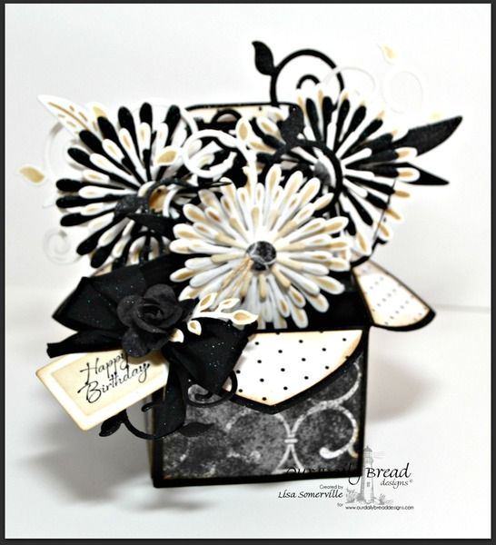 Over The Hill Birthday Flowers By Lisa S Cards And Paper Crafts At Splitcoaststampers