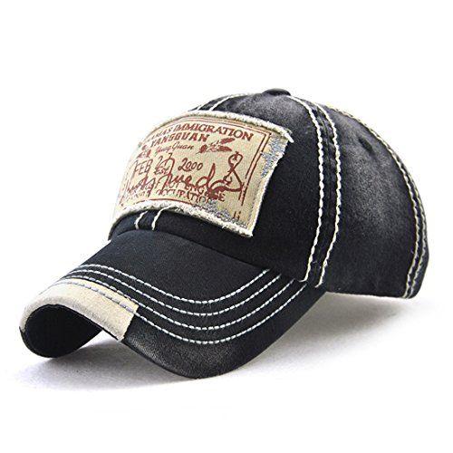 Roffatide Unisex Washed Cotton Patch Baseball Cap Distres Https Www Amazon Ca Dp B075q9393m Ref Cm Sw R Pi Dp U X 8g Hats For Men Casual Cap Baseball Hats