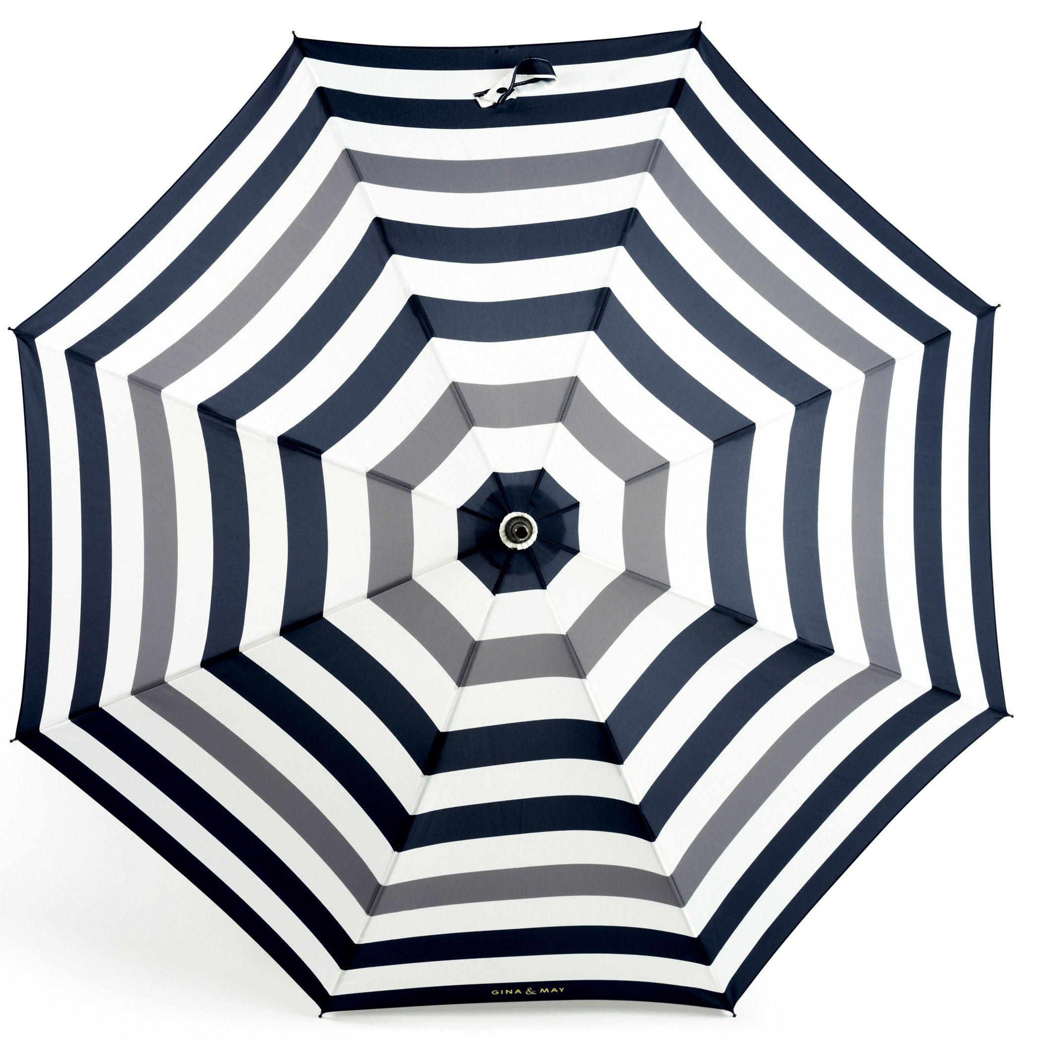 Gina & May | Designer Umbrella | Elephant Stripes Umbrella | Contemporary Art. Design Gifts. Ideas. | Everything Begins