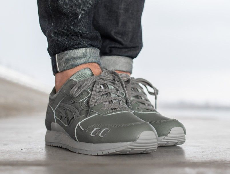 Asics Gel-Lyte III agave green | BijSMAAK.com online sneaker boutique
