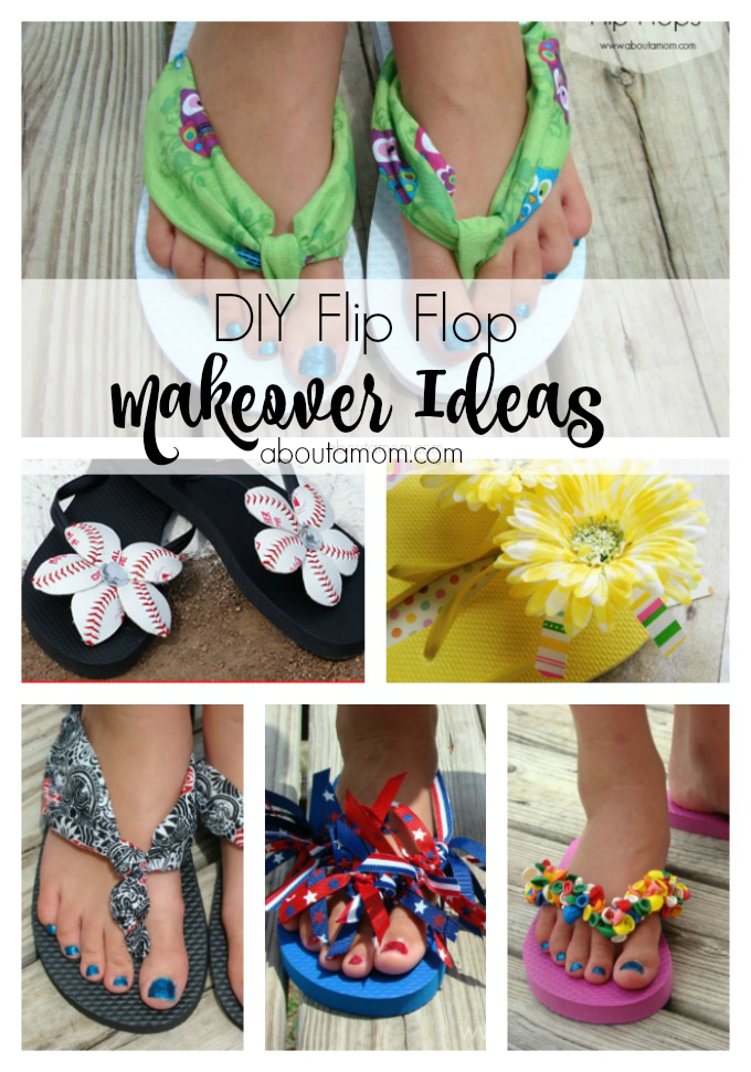 0b1d4bf8c1657e Give last year s flip flops a new look with these simple diy flip flop  makeover projects!