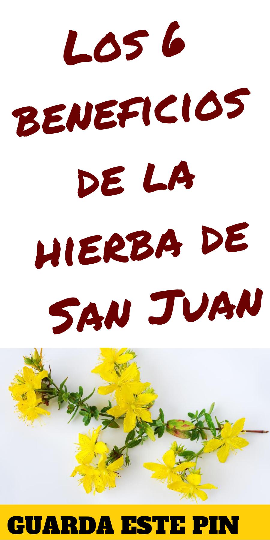 La hierba de san juan sirve para adelgazar