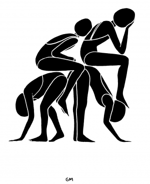 Stylized Paintings With A Sense Of Humor By Geoff McFetridge