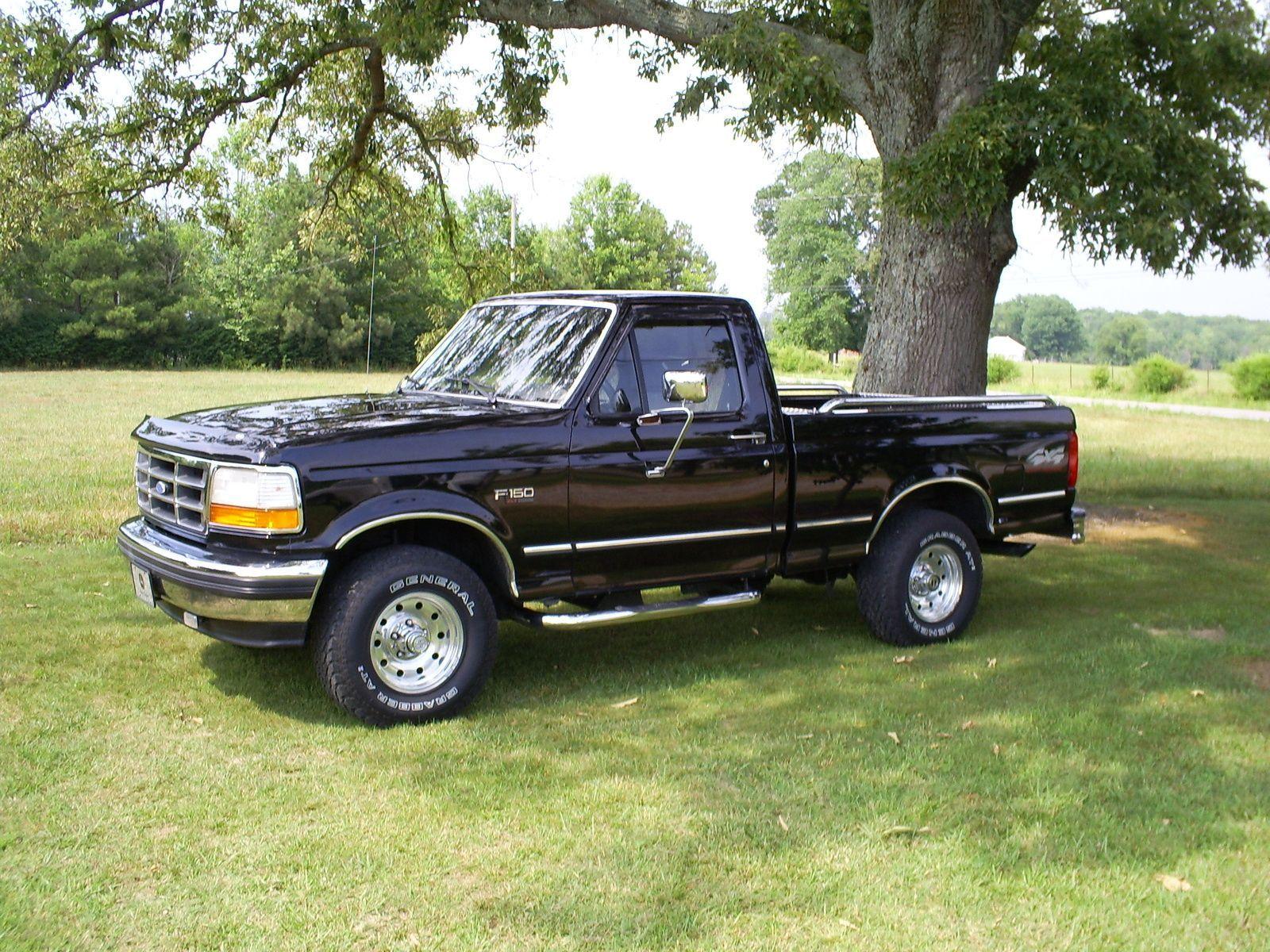 1995 Ford F 150 Regular Cab Short Bed Ford Pickup Trucks 1995 Ford F150 Classic Ford Trucks