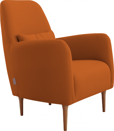 Daborn fauteuil en tissu Daborn 450€ existe en rouge, violet, beige, bleu