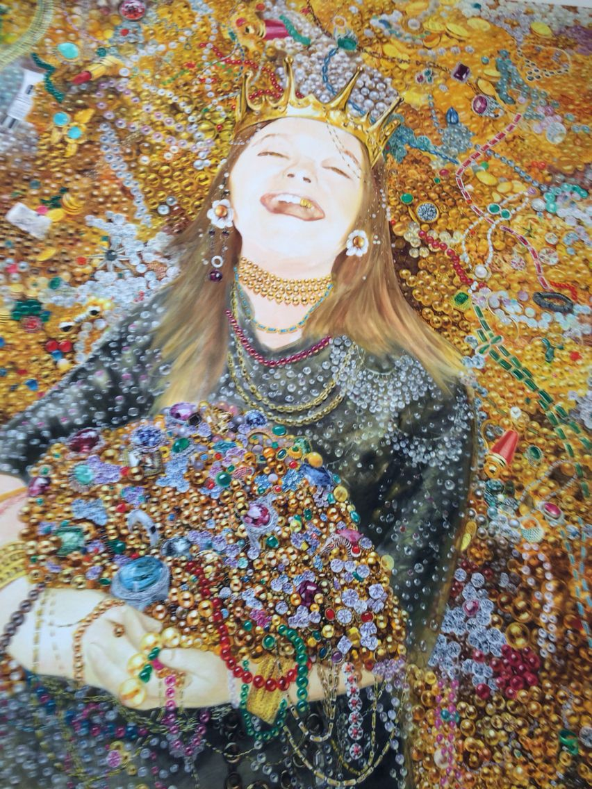 Materialism Contemporary Art Painting Art Pop Art