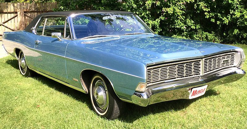 1968 Ford Ltd 2 Door Hardtop Click For More Photos Ford Ltd Ford Galaxie Vintage Cars