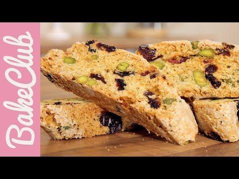 Biscotti mit Pistazien & Cranberries - BakeClub