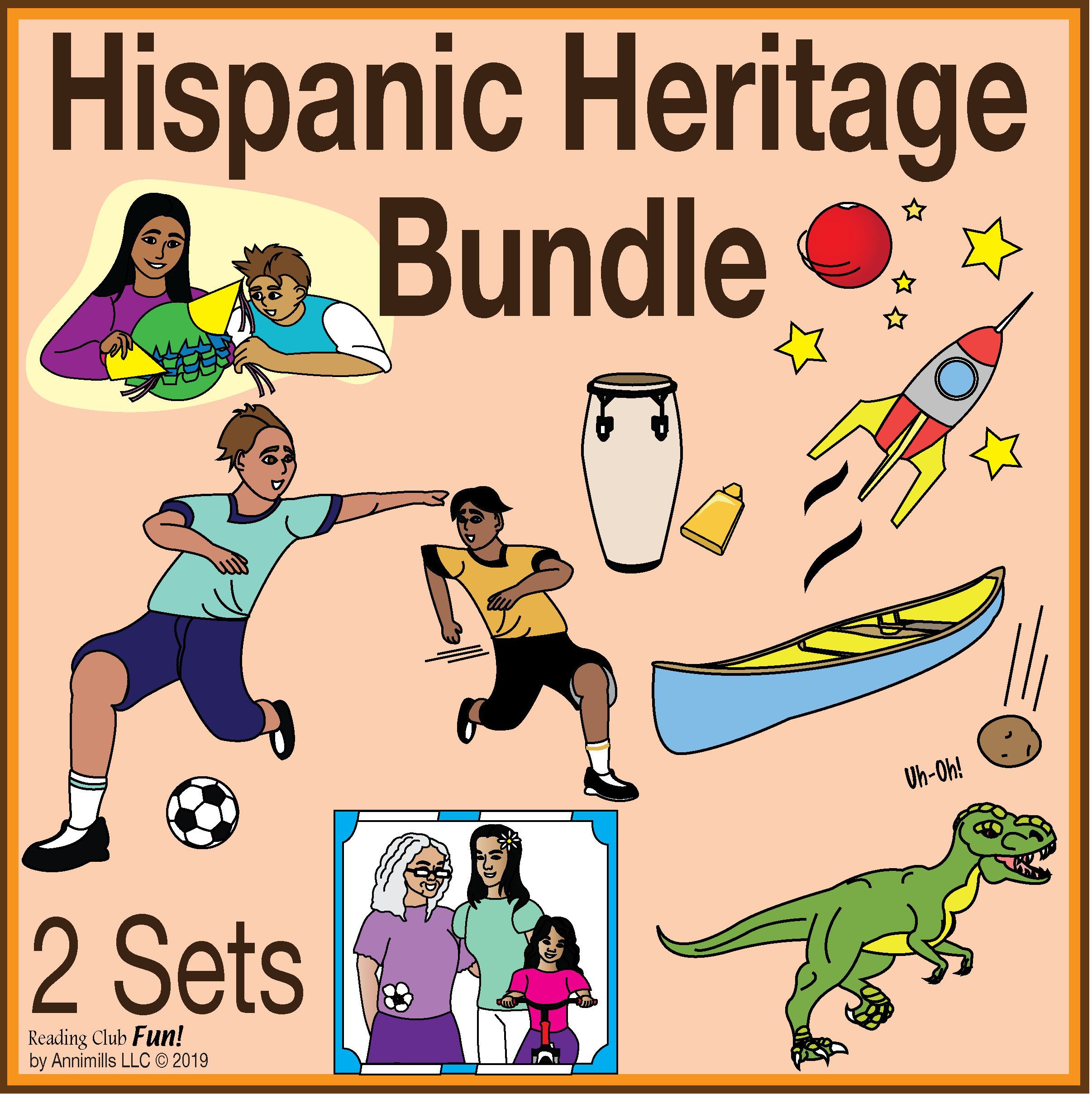 Hispanic Heritage Puzzle Bundle With Variety Of Engaging