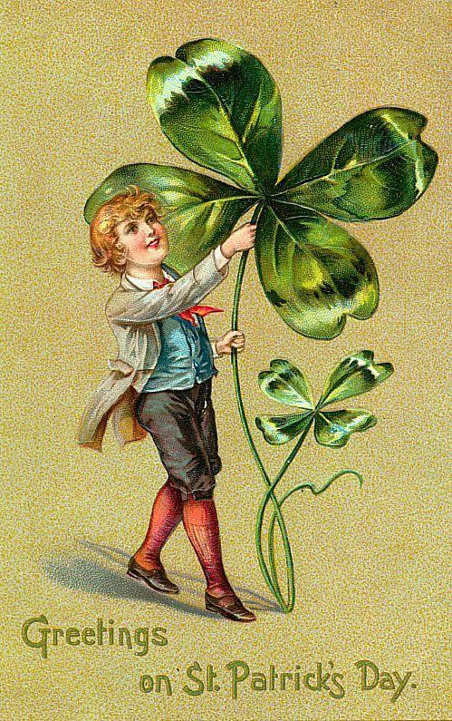 Vintage St. Patrick's Day greeting.