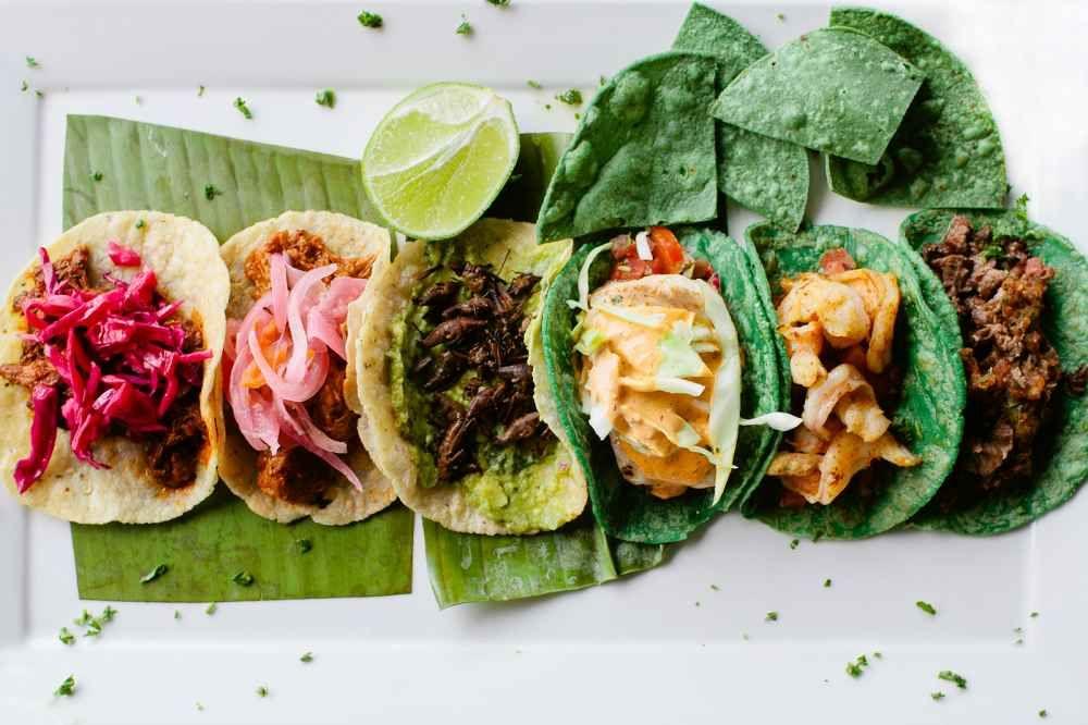 3 Taco Appetizer at Rocio's Mole De Los Dioses