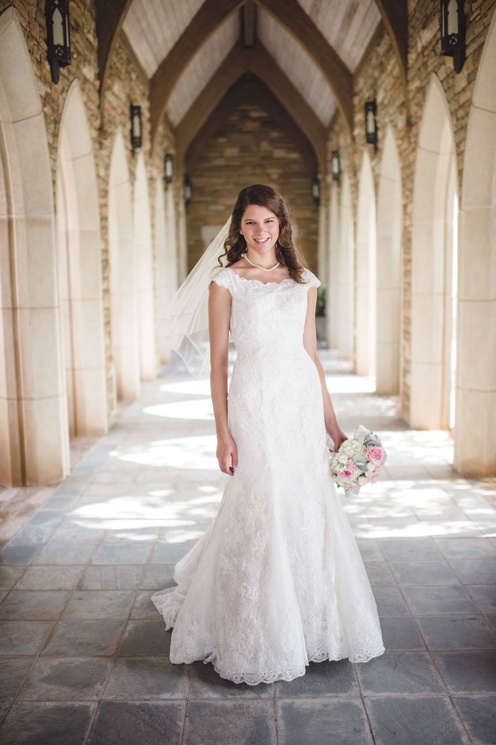 A Beautiful Bride At Historic Oklahoma City Church On Her Wedding Day I Love