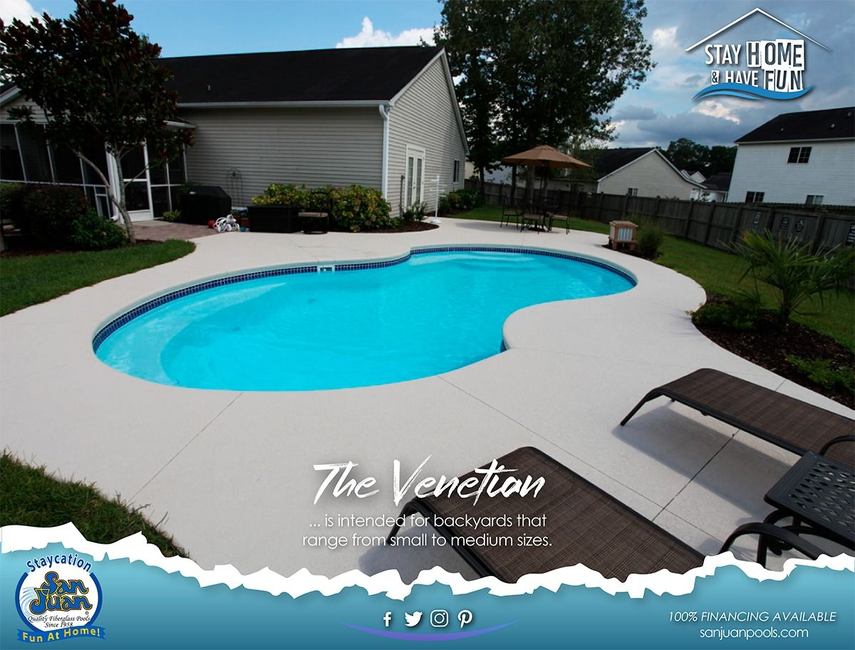 The Venetian San Juan Pools In 2020 Fiberglass Swimming Pools Pool San Juan Pools