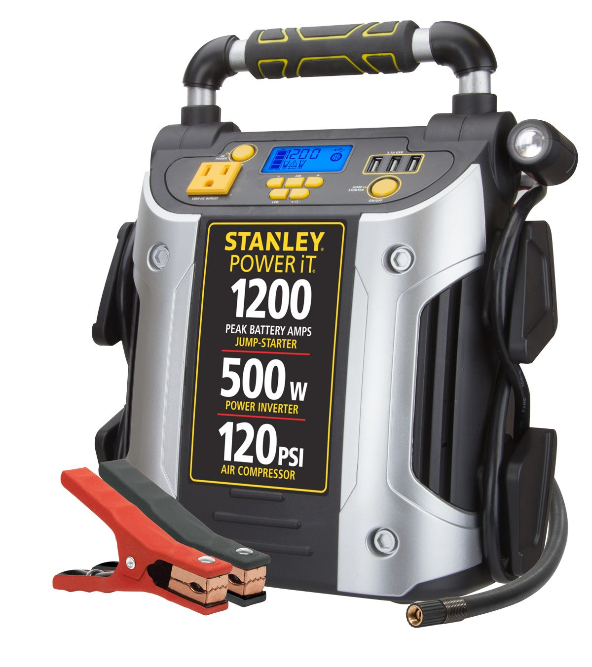 STANLEY 1200A Peak Jump Starter/Power Station w/500 watt