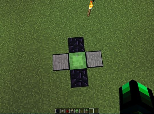 How to Make Slime Block Launchpad on Minecraft Pc-Updated