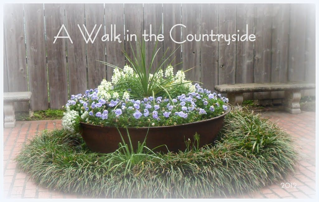 Walk In Garden Box: Walk In The Countryside: Vintage