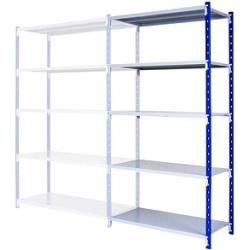 Photo of Manorga add-on heavy duty shelf gray / blue