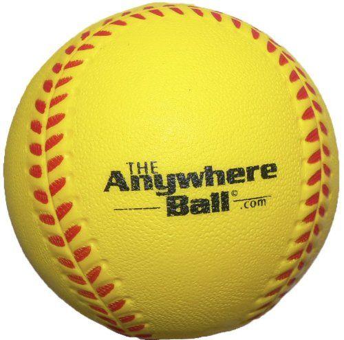 The Anywhere Ball Baseball Softball Foam Training Ball 6 Https Www Amazon Com Dp B06xq5 Softball Training Baseball Softball Basketball Training Equipment