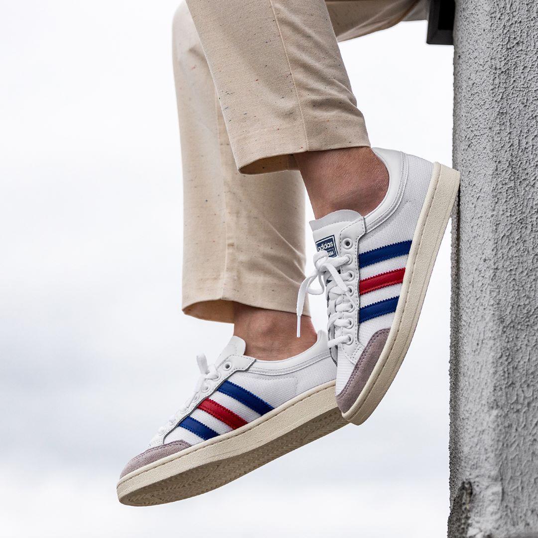Adidas Originals Americana Low In Weiss Ef2508 Everysize Vintage Sneakers Sneakers Mode Sneaker Trend