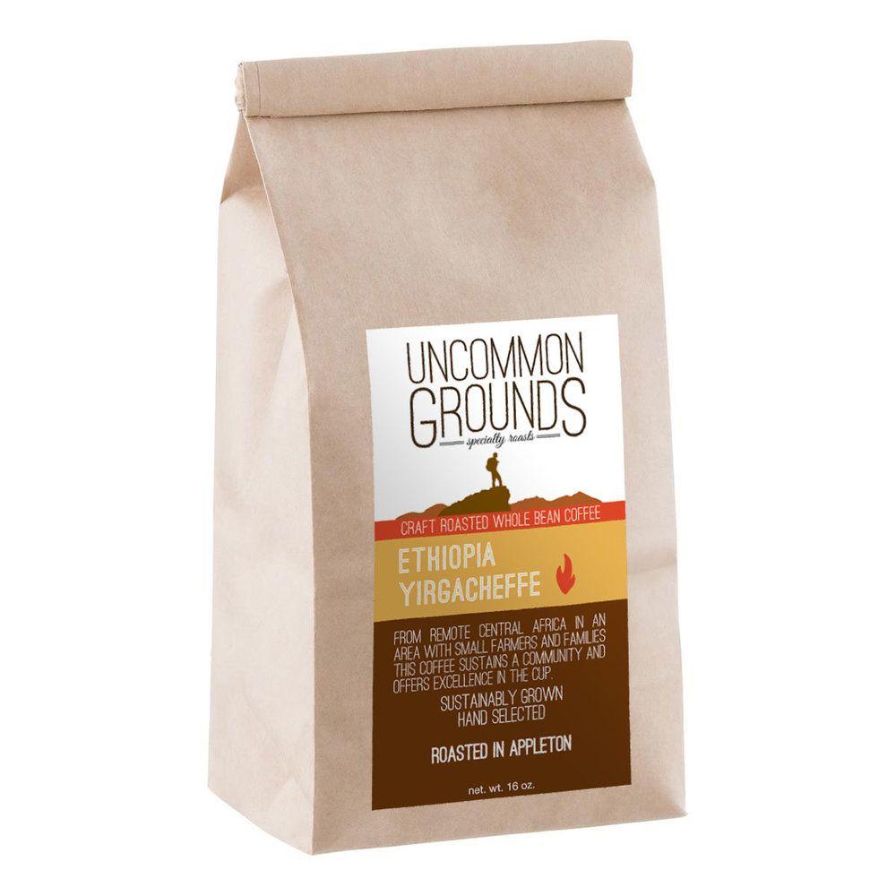 Ethiopia yirgacheffe grounds ethiopia coffee