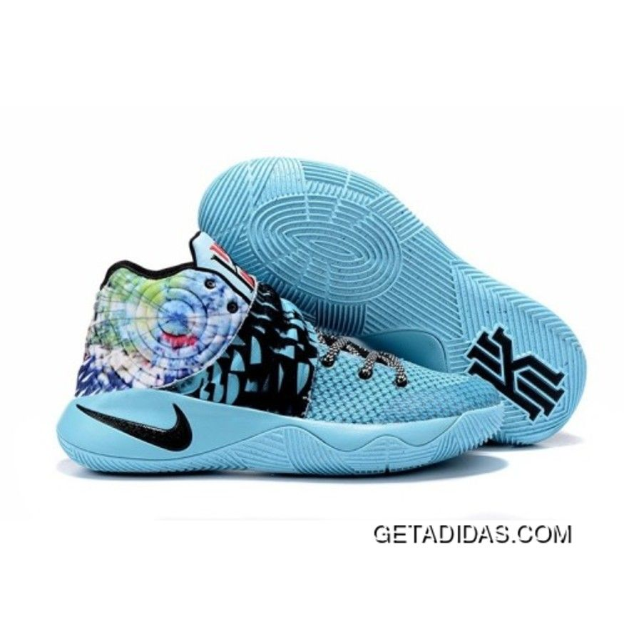 Nike Kyrie 2 women shoes Blue colorful