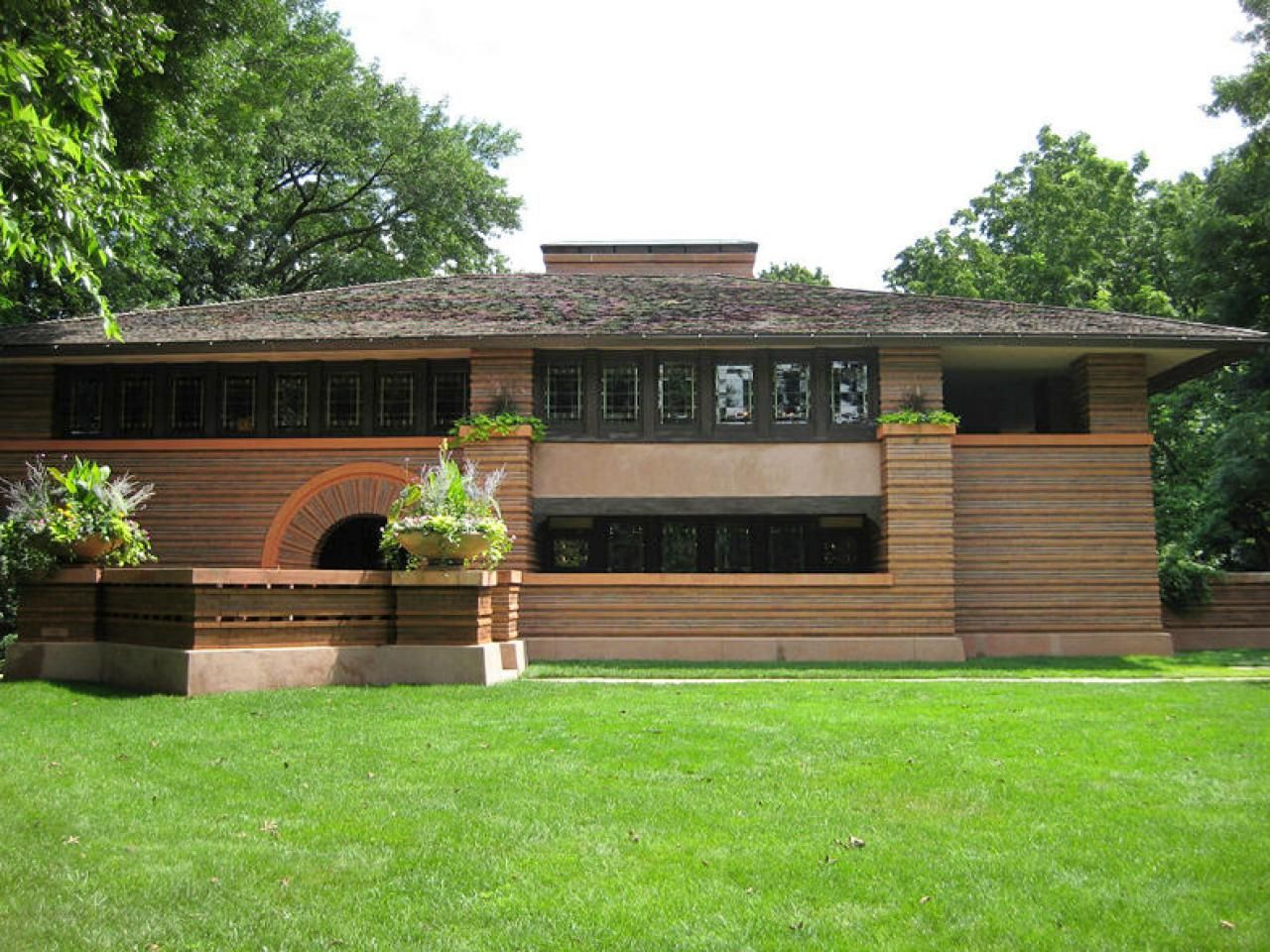 Chicagostyle homes prairie style houses architecture