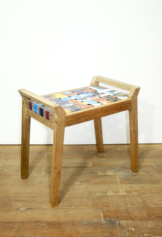 Small Retro Bench by Mutra on Etsy
