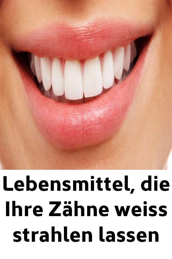 Lebensmittel die Ihre Zähne weiss strahlen lassen | Günaydın