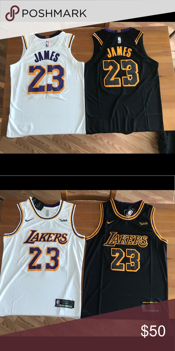 buy cheap 046e3 dd5c6 Lebron Lakers Jersey BRAND NEW. All size 48(M) REGULAR price ...