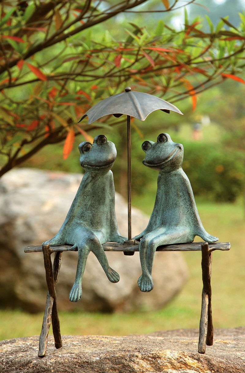 Outdoor decor statues - 25 Cute And Funny Animal Garden Statues