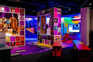 The Groovy 1968 Exhibit visits the National Constitution Center in Philadelphia. It will take you back in time to the iconic year in US history.