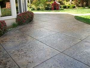Cost Of Stamped Concrete Patio Vs Pavers Home Design Ideas