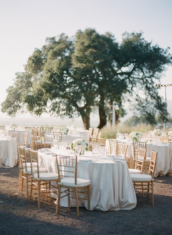 Oval Table Oval Table Wedding Locations California