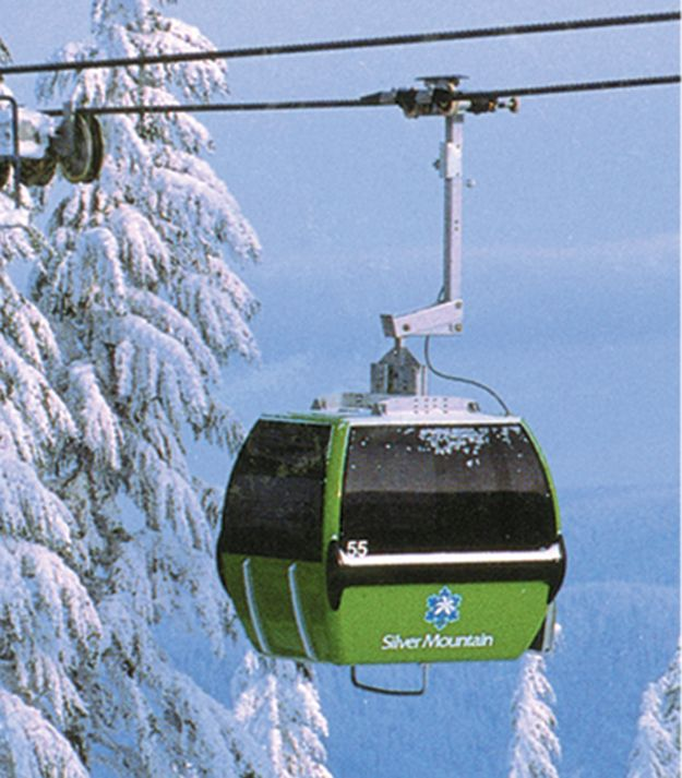 Best Places In The Us To Snowboard: Snowboarding At Silver Mountain Ski Resort Kellogg, Idaho