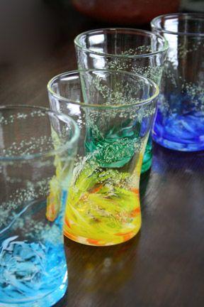 【琉球ガラス】 海蛍アイスグラス