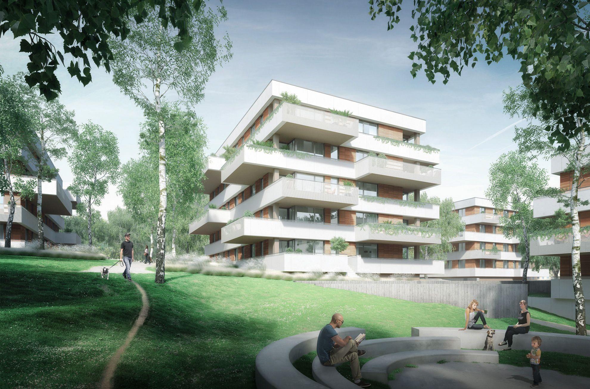 Architekten Chemnitz architekturwettbewerb architecture competition renderatelier