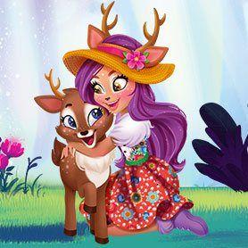 Danessa Deer And Sprint Historieta Graciosa Dibujos Kawaii Dibujos