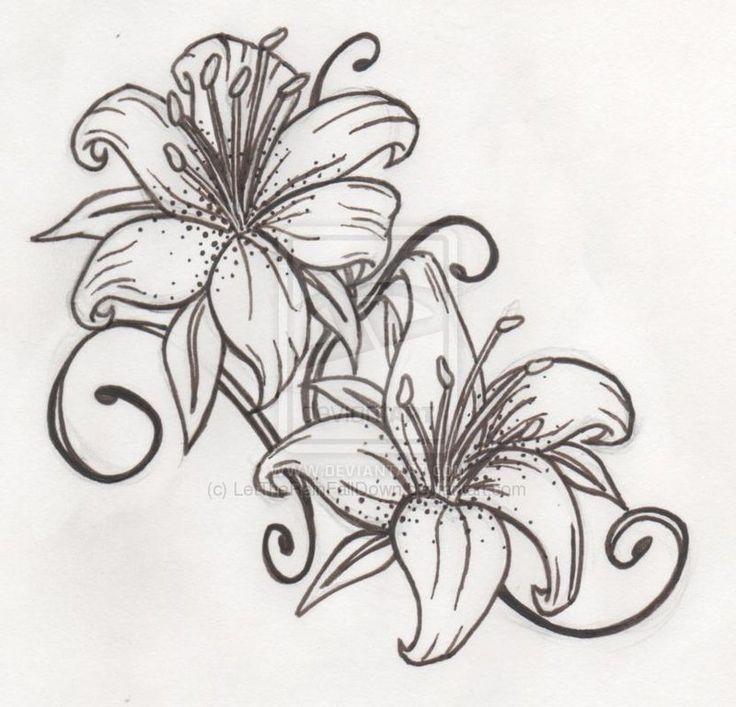 Lilies Lily Tattoo Design Tiger Lily Tattoo Tattoos Tattoo Designs