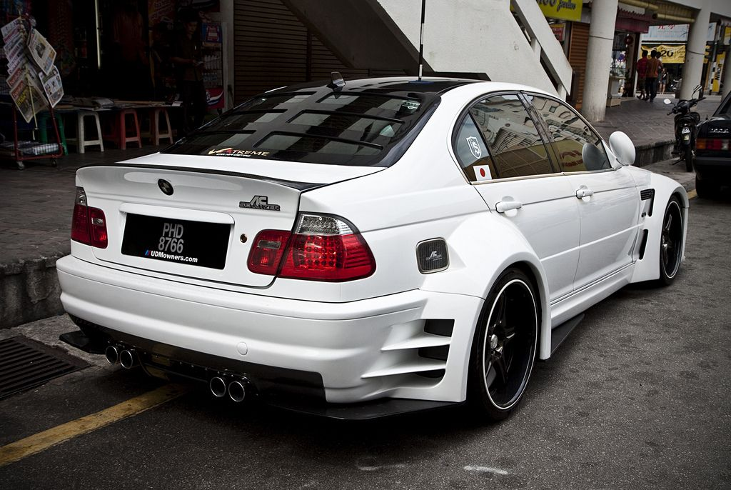 Insanely Kitted Out Bmw E46 That I Spotted On The Streets Of Penang