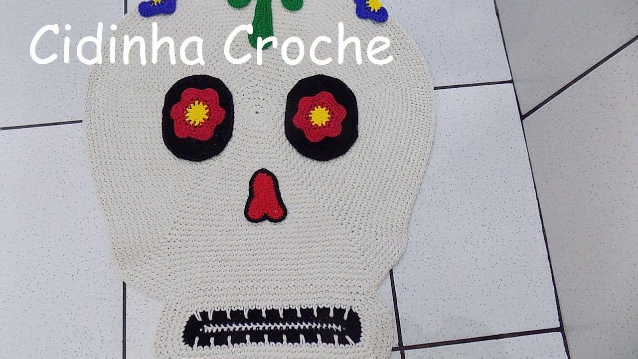 Cidinha Croche : Tapete Em Croche De Caveira -Pass...
