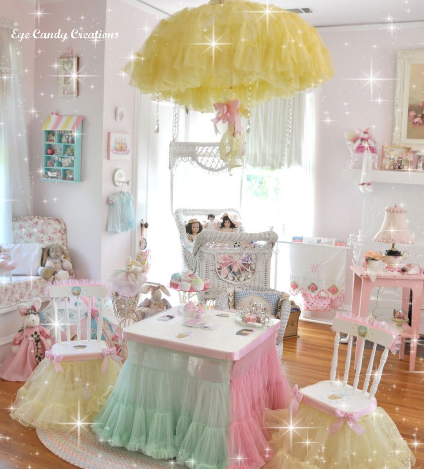 A Little Girl's Fairy Tale Bedroom ! Oh My Goodness