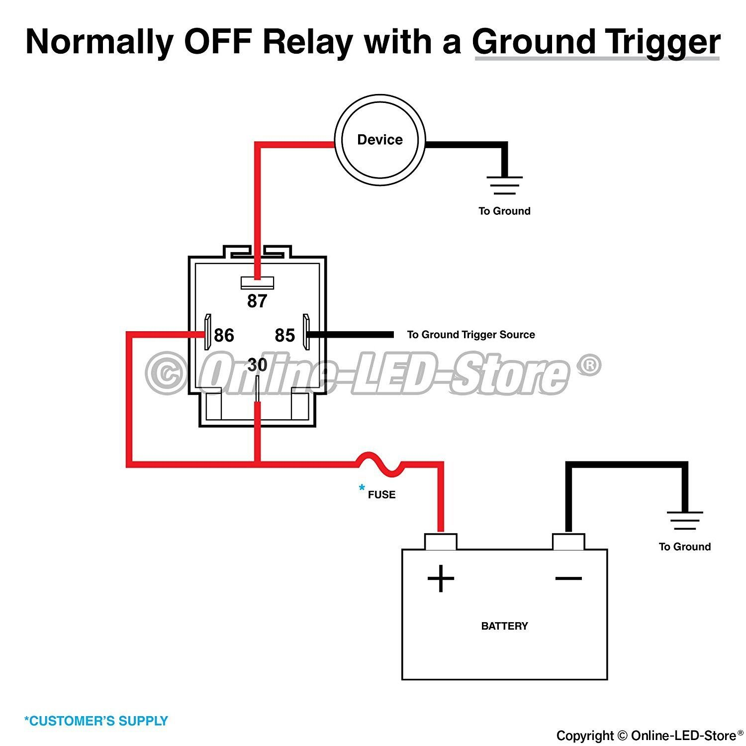 Horn Relay Diagram 4 Pin