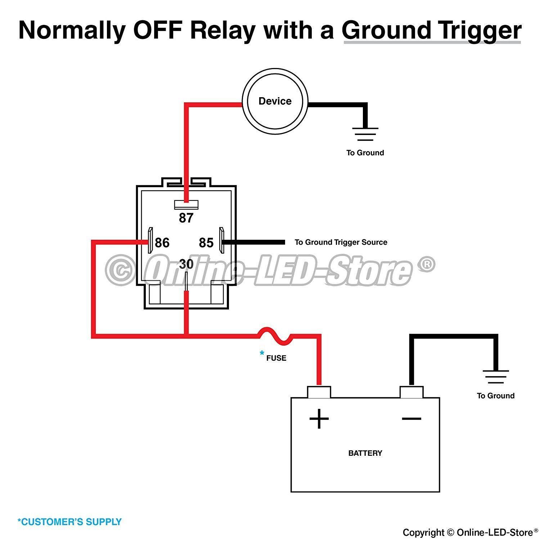 Horn Relay Diagram 4 Pin