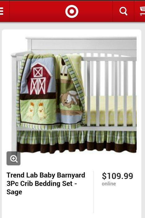Target farm scene | Crib bedding sets, Baby bedding sets ...