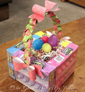 Edible Easter Basket | One Good Thing by Jillee